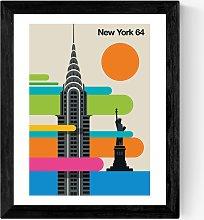 Bo Lundberg - 'New York 64' Framed Print,