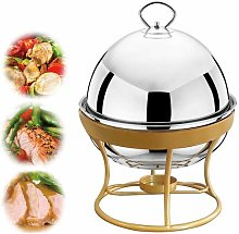 Bo Time BC-CHLH-AM1001 Round Stainless Steel Tea