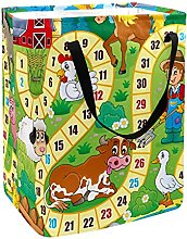 Board Desk Game Laundry Basket Large Cloth