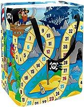 Board Desk Game Pirate Lighthouse Laundry Basket