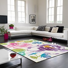 Boca BC05 Malmo Floral Rug by Asiatic