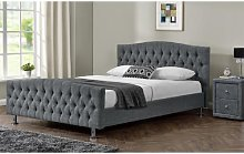 Bockman Upholstered Bed Frame ClassicLiving