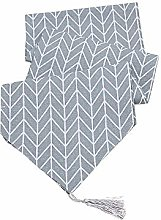 Bocotoer Long Table Cover Double Sided Cotton