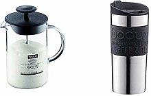 BODUM 1446-01 Latteo Milk Frother, Borosilicate