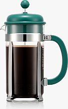 BODUM 8 Cup Cafetiere Coffee Maker, 1L, Green