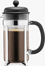 BODUM 8 Cup Caffetteria Coffee Maker, 1L, Black