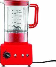Bodum Bistro Electric Blender - 1.25 L/42 oz, Red