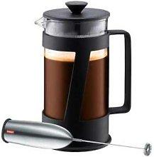Bodum - Black DS Crema Coffee Maker Milk Blender