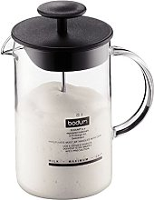 Bodum Latteo Milk Frother with Glass Handle 0.25L