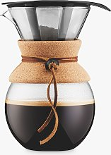 BODUM Pour Over Coffee Maker with Filter and Cork