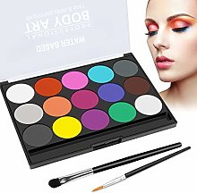 Body Painting Face Paint Kit, 15 Colors Non-Toxic