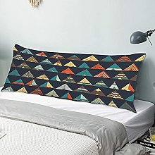 Body Pillow Cover,Tipi Native American Summer Tent