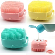 Body Scrubber with Soap Dispenser for Shower, 3
