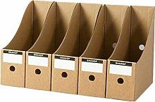BOENTA Magazine Holder Magazine File Cardboard
