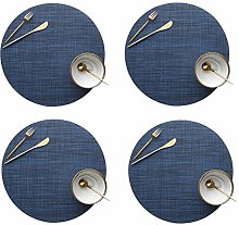 BOENTA Round Placemats Coasters And Placemats