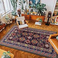 Bohemian Ethnic Style Carpet Large Area Full Of