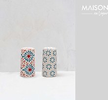 Bohemian salt and pepper shaker