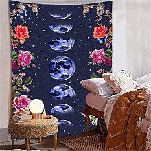 Bohemian style flower mandala wall hanging
