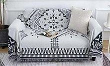 Bohemian Throw Blanket: White/M