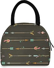 Boho Arrows Lunch Bag Cooler Bag Insulated Lunch