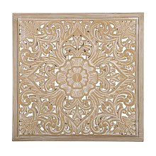 Boho Moroccan Square Wall Decoration Carving