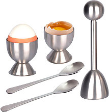 Boiled Egg Egg Cookie Cutter Set Stainless steel