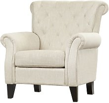 Boise Armchair Three Posts Upholstery Colour: Beige