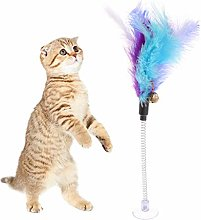 Boji Cat Toy Spring Toy with Suction Cup Mouse