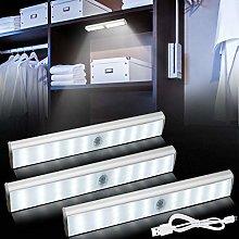 Bojim 3 Pcs LED Under Cabinet Lighting dimmable