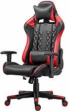 BOJU Adjustable Racing Gaming Chair with Armrest