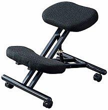 BOJU Black Ergonomic Kneeling Chair Stool for