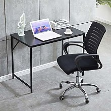BOJU Black Small Computer Desk Table for Home
