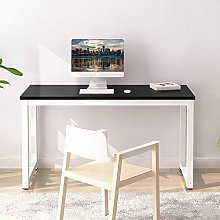 BOJU Modern Black Computer Gaming Desk Table Wood