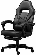 BOJU Office Gaming Racing Chair Black with Arms