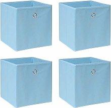 BOJU Pack of 4 Folding Unit Storage Organizer