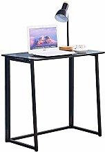 BOJU Small Computer Desk Table Foldable for Home