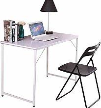 BOJU Small White Laptop Computer Desk Table Home