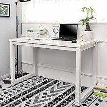 BOJU White Laptop Computer Desk Table Small for