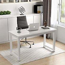 BOJU White Office Computer Desk Table for Laptop