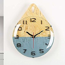 BoKa-Store Wall clock Pink wall clock/gray kitchen