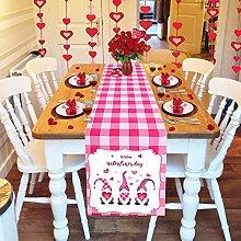 BOKAPA Table Runner Valentines Day Decorations