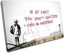 Bold Bloc Design Airstrike Banksy Street 90x60cm