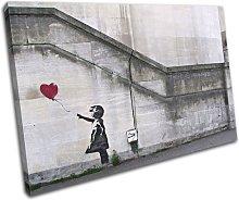 Bold Bloc Design Balloon Girl Banksy Street