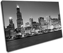 Bold Bloc Design Chicago Cityscape City 90x60cm