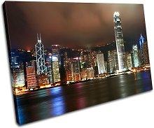 Bold Bloc Design Hong Kong Skyline City 90x60cm
