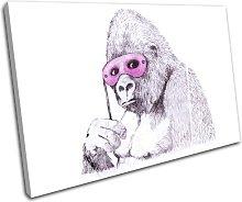Bold Bloc Design Monkey Mask Banksy Street 90x60cm