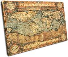 Bold Bloc Design Old World Atlas Maps 90x60cm