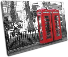 Bold Bloc Design Red London Telephone Box City