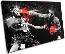 Bold Bloc Design Red Mike Tyson Boxer Sport