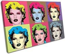 Bold Bloc Design Warhol Kate Moss Banksy 90x60cm